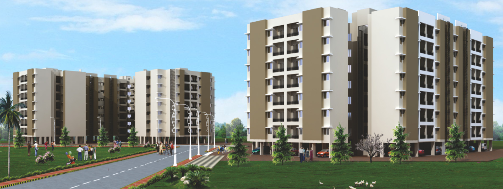 3 BHK Flats In Nagpur - The Empyrean Nagpur